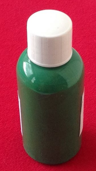 "Computer Matched 50ml Bottle of ""Grass Green"" brush paint for Dinky Toys 454 Trojan Cydrax"